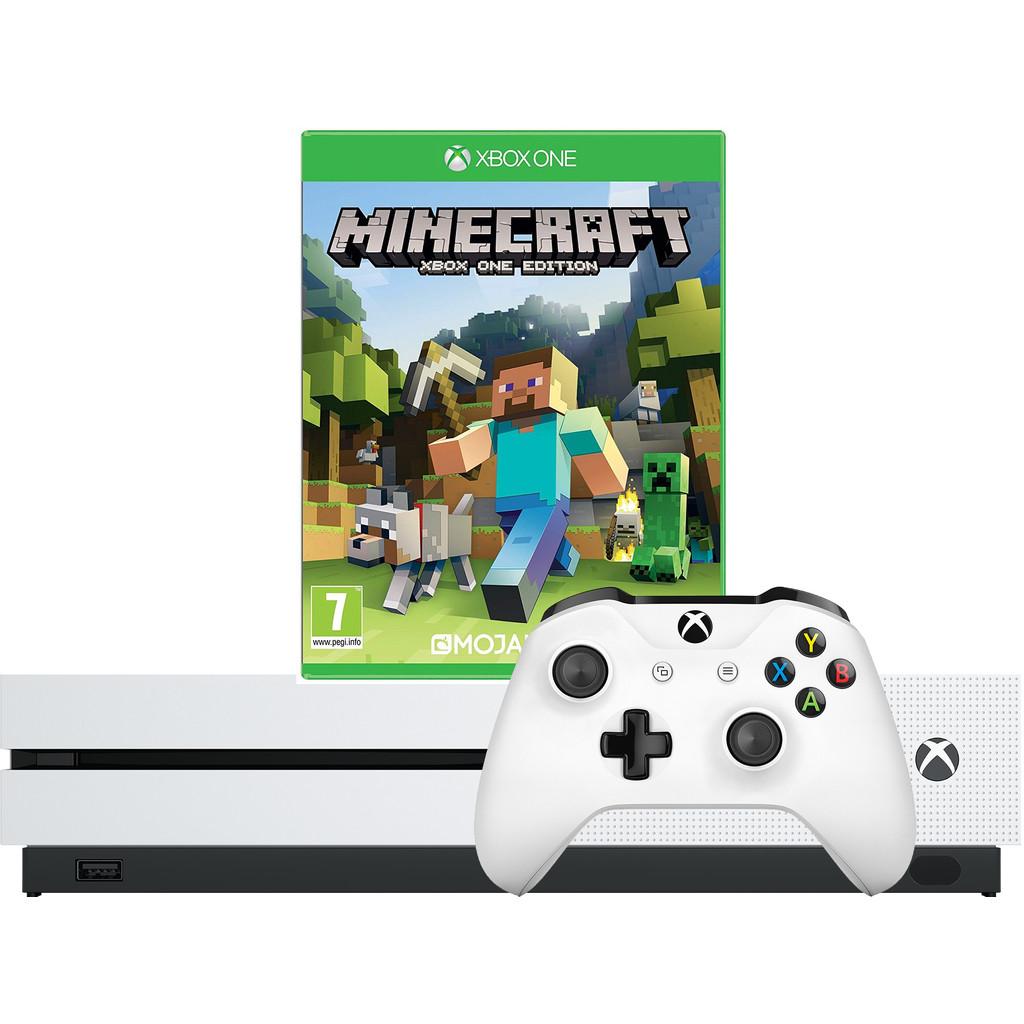 Xbox One S 1TB + Minecraft kopen