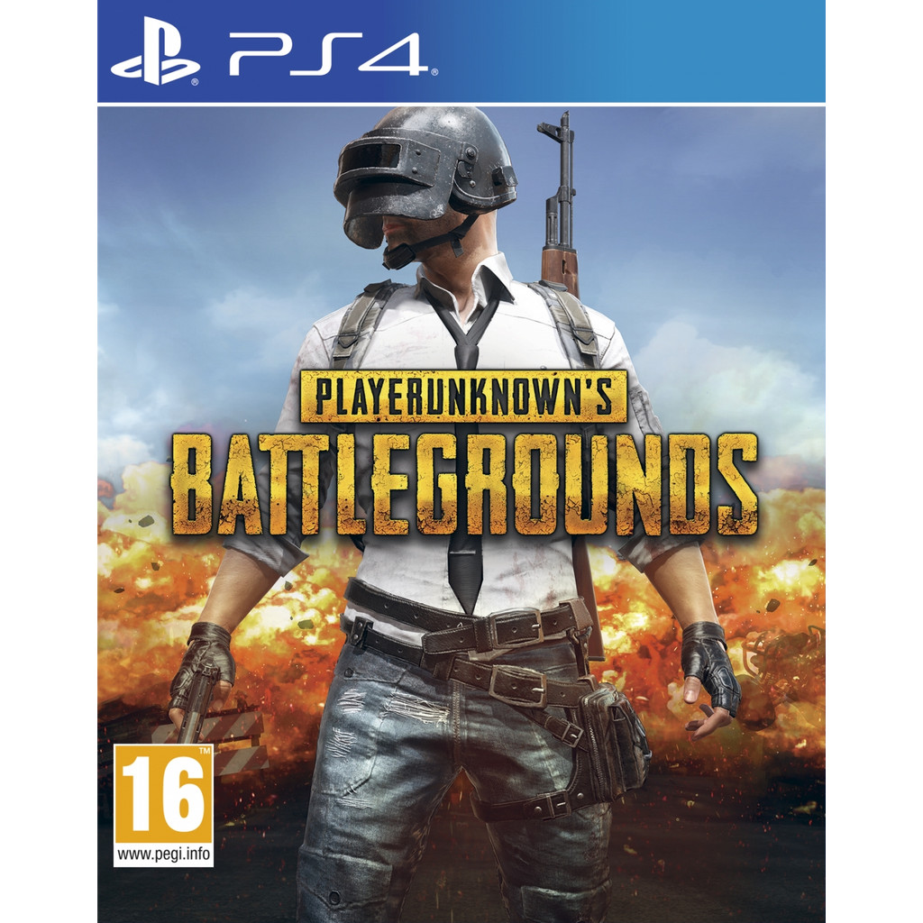 Player Unknown's Battlegrounds (PUBG) PS4
