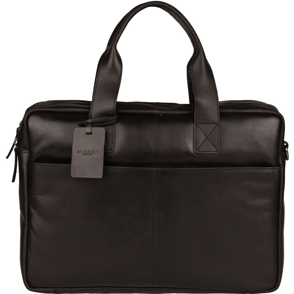 Burkely Mens Bag Schoudertas black