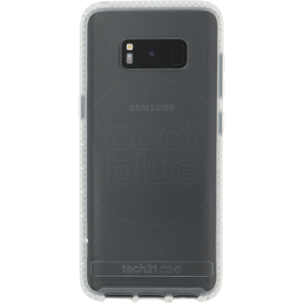 Tech21 Pure Clear Samsung Galaxy S8 Back Cover Transparant