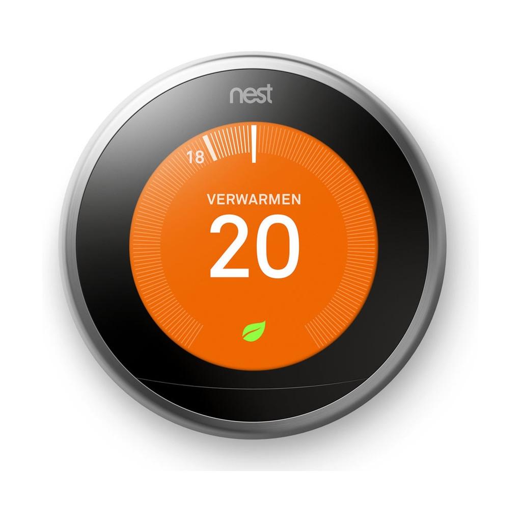 Nest Learning Thermostat V3 Standaard met Installatie