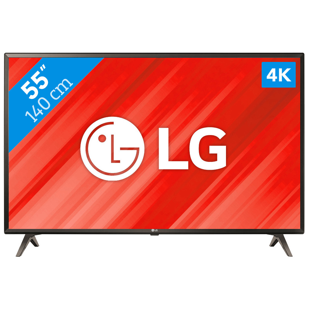 LG 55UK6300-4K (UHD)  Smart tv: WebOS  50 Hertz