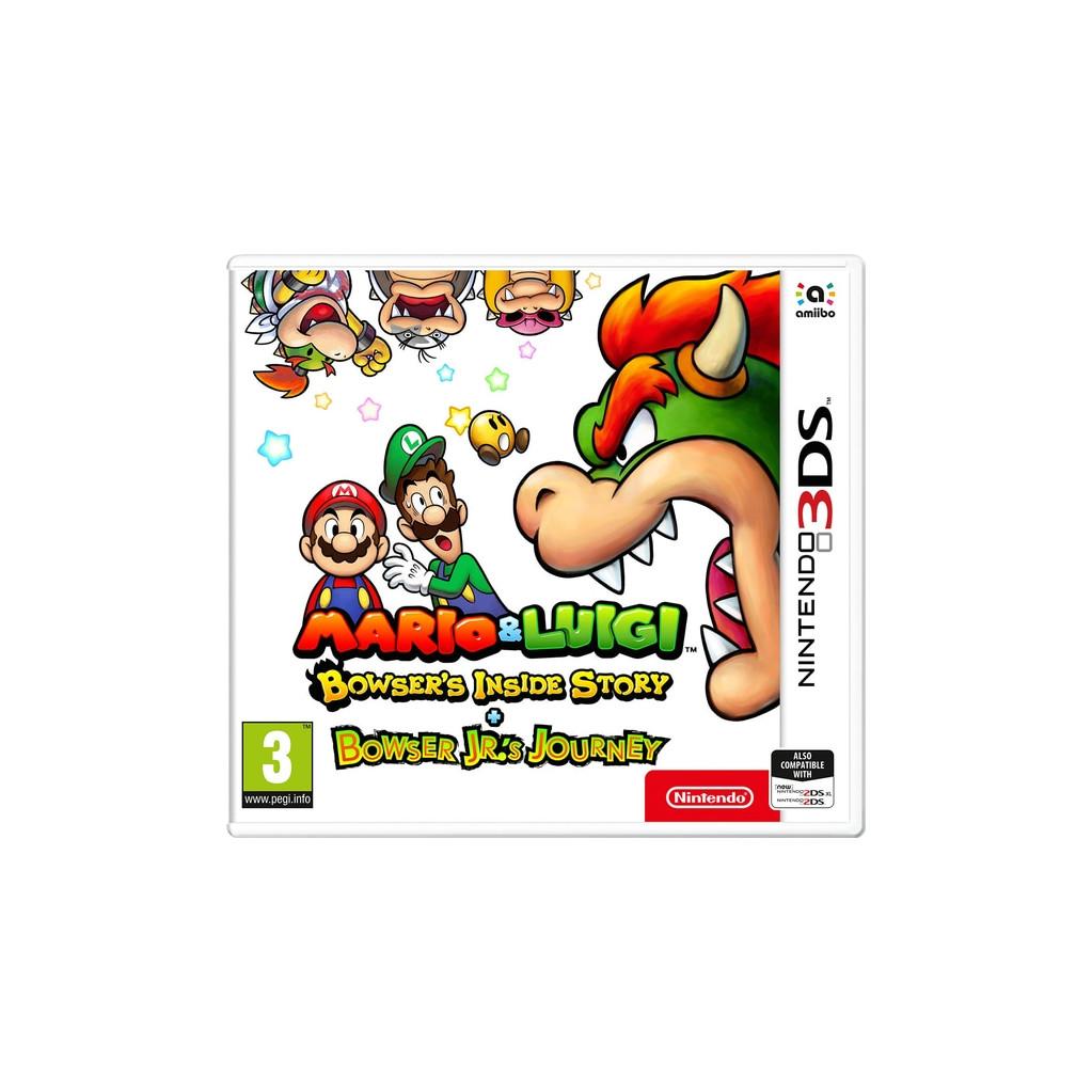 Mario & Luigi: Bowsers inside story & Bowser Jr. Journey 3DS