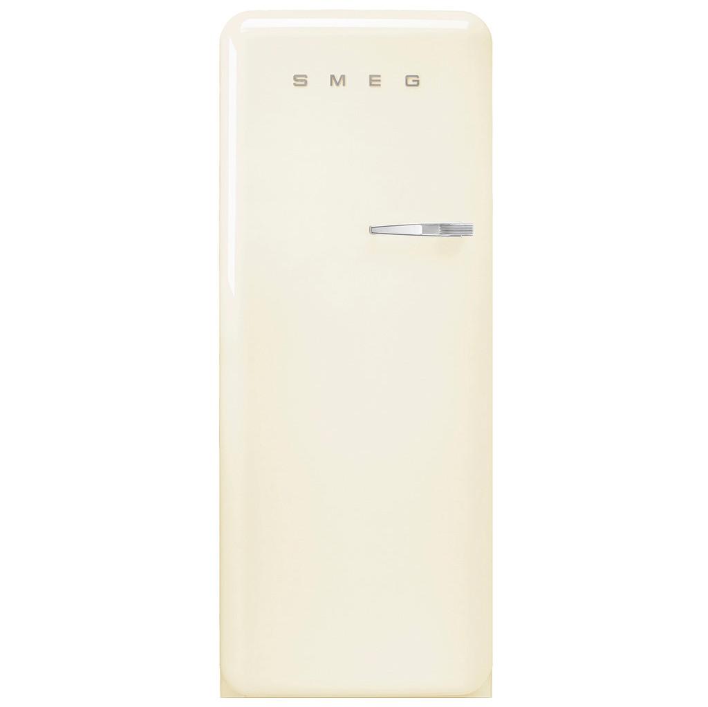 Smeg FAB28LCR3 koelkast met diepvriesvak in de kleur Crème met...