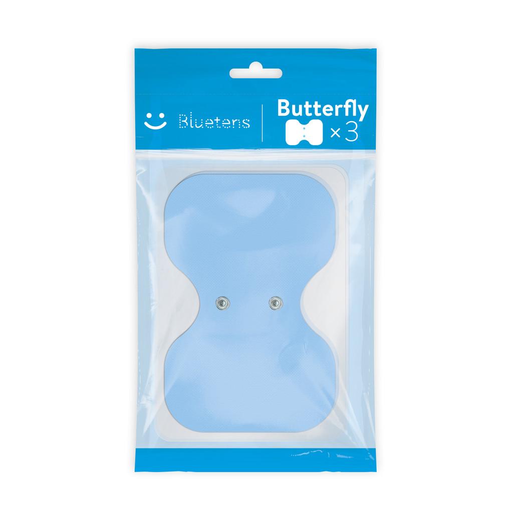 Afbeelding van Bluetens Bluepack Electrodes Butterfly 3 elektrode pad