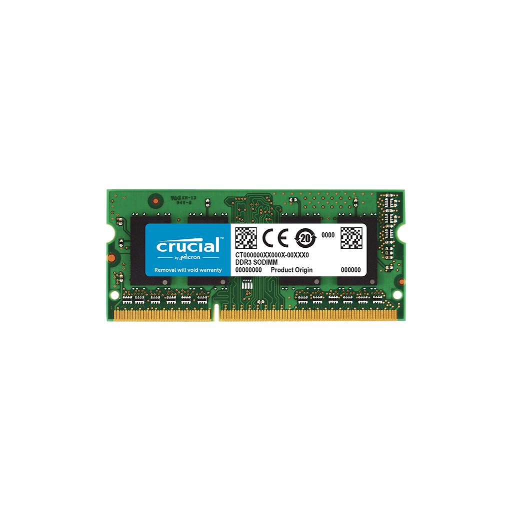 Afbeelding van Crucial 8GB DDR3L 1600 SODIMM for Mac intern geheugen