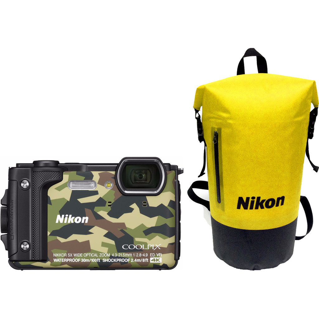 Nikon Coolpix W300 compact camera Camouflage