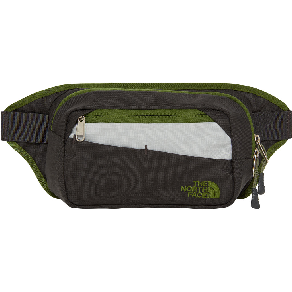 The North Face Bozer Hip Pack II Asphalt Grey/Garden Green kopen