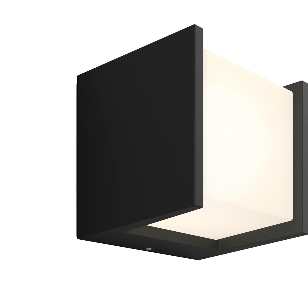 Philips Lighting Hue LED-wandlamp voor buiten Fuzo LED vast ingebouwd 15 W Warm-wit