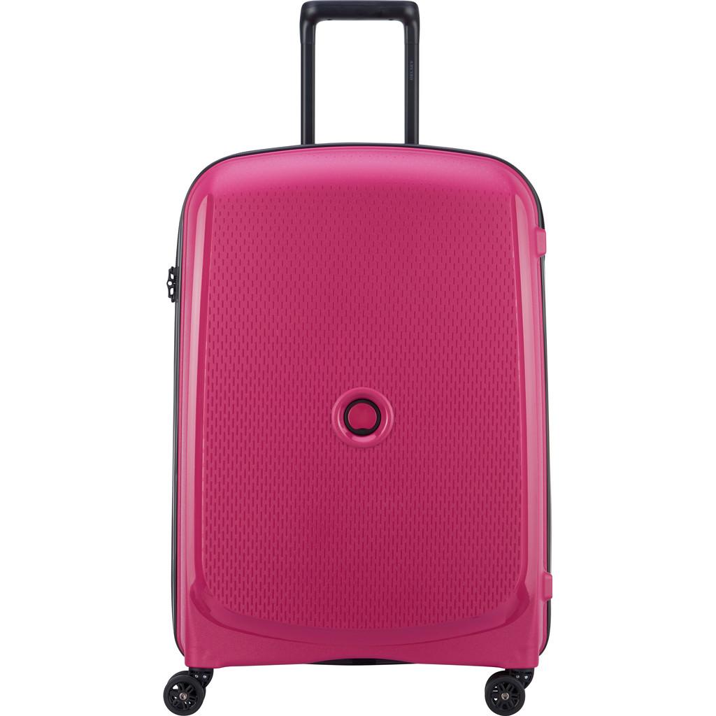 Delsey Belmont Plus 4 Wheels Trolley 71 pink Harde Koffer