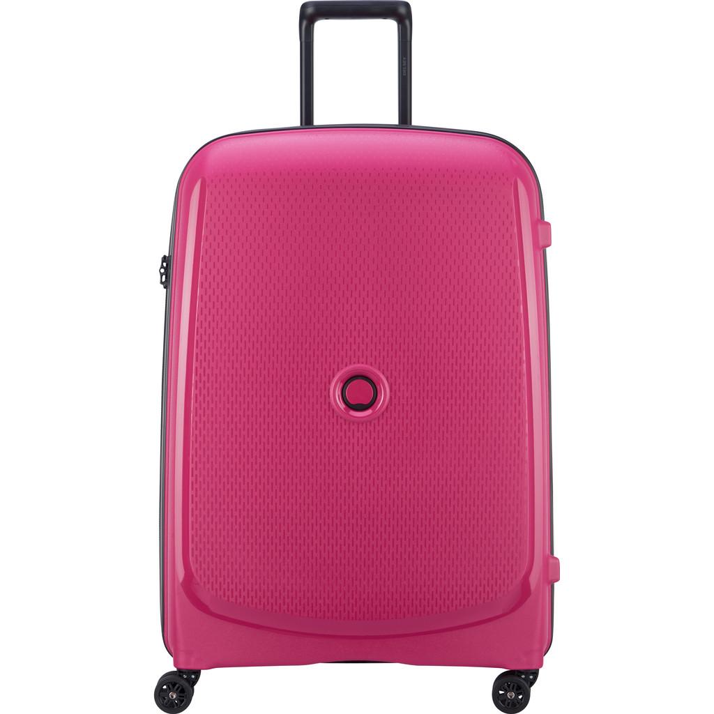 Delsey Belmont Plus 4 Wheels Trolley 76 pink Harde Koffer