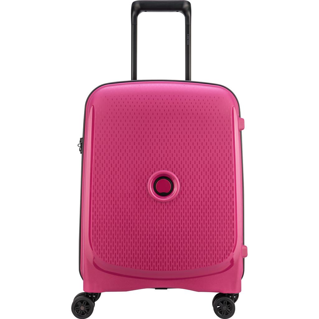 Delsey Belmont Plus 4 Wheel Trolley 55 pink Harde Koffer