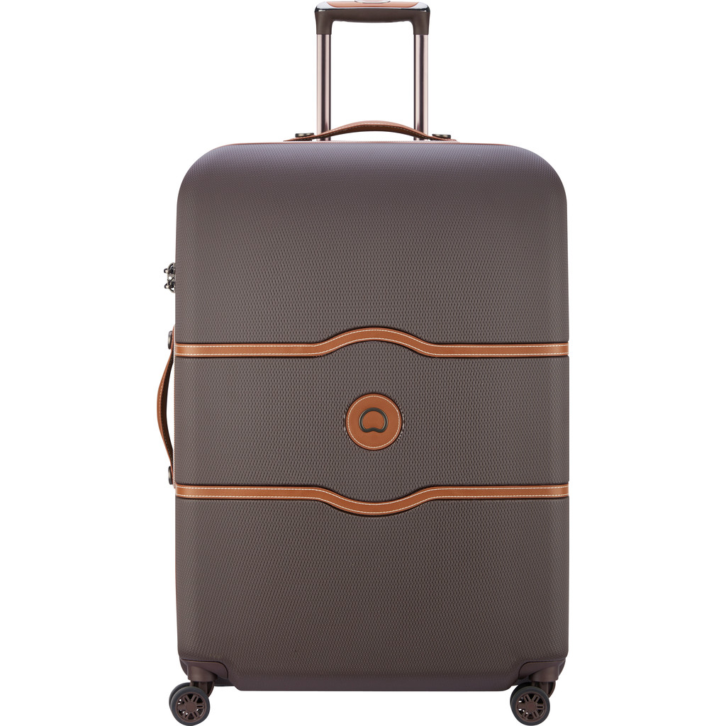 Delsey Chatelet Air 4 Wheel Trolley 77 chocolate Harde Koffer