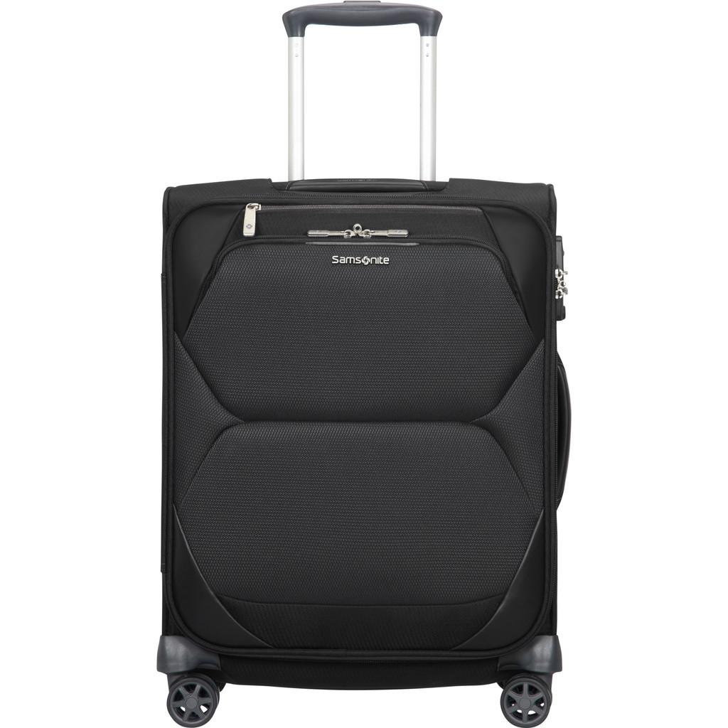 Samsonite Dynamore Spinner 55 Length 40 cm black Zachte koffer