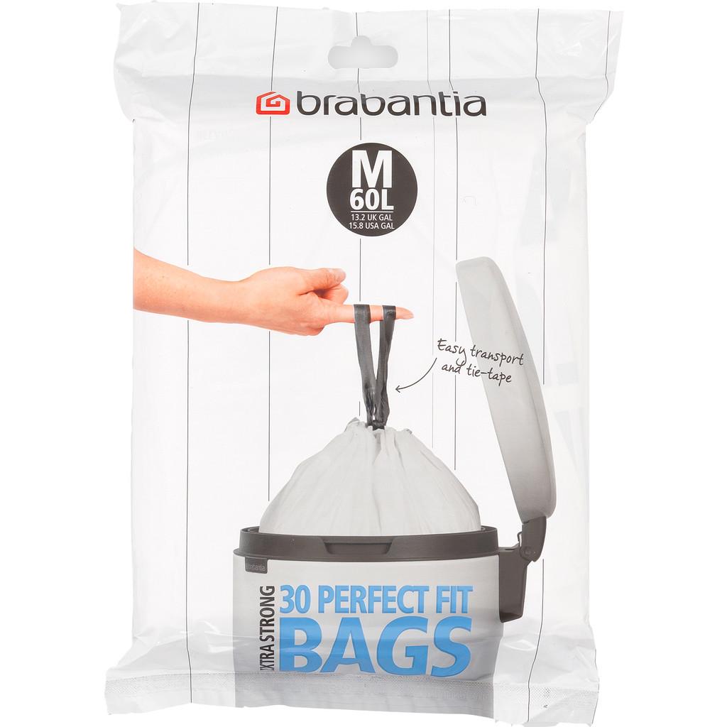 Brabantia PerfectFit Code M 60 Liter (30 stuks)