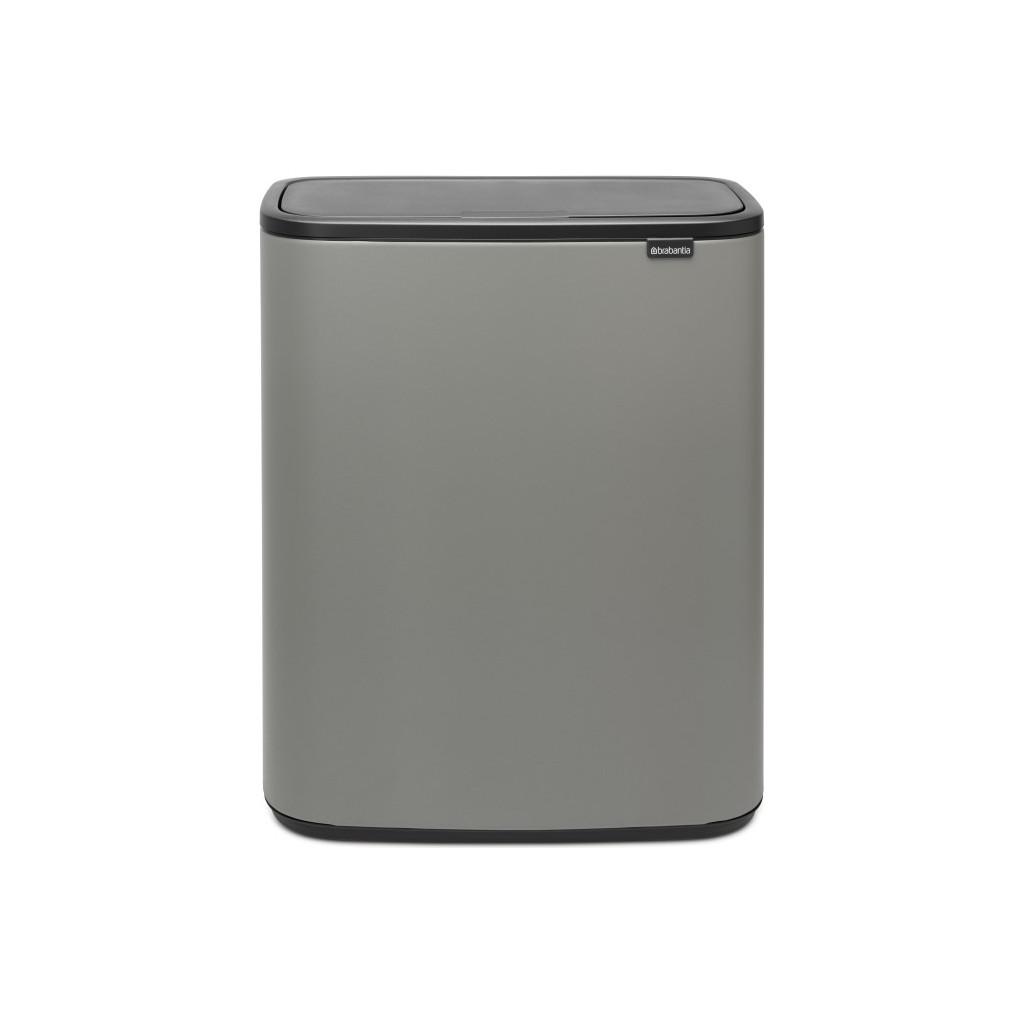 Brabantia Bo Touch Bin 2 x 30 Liter Grijs