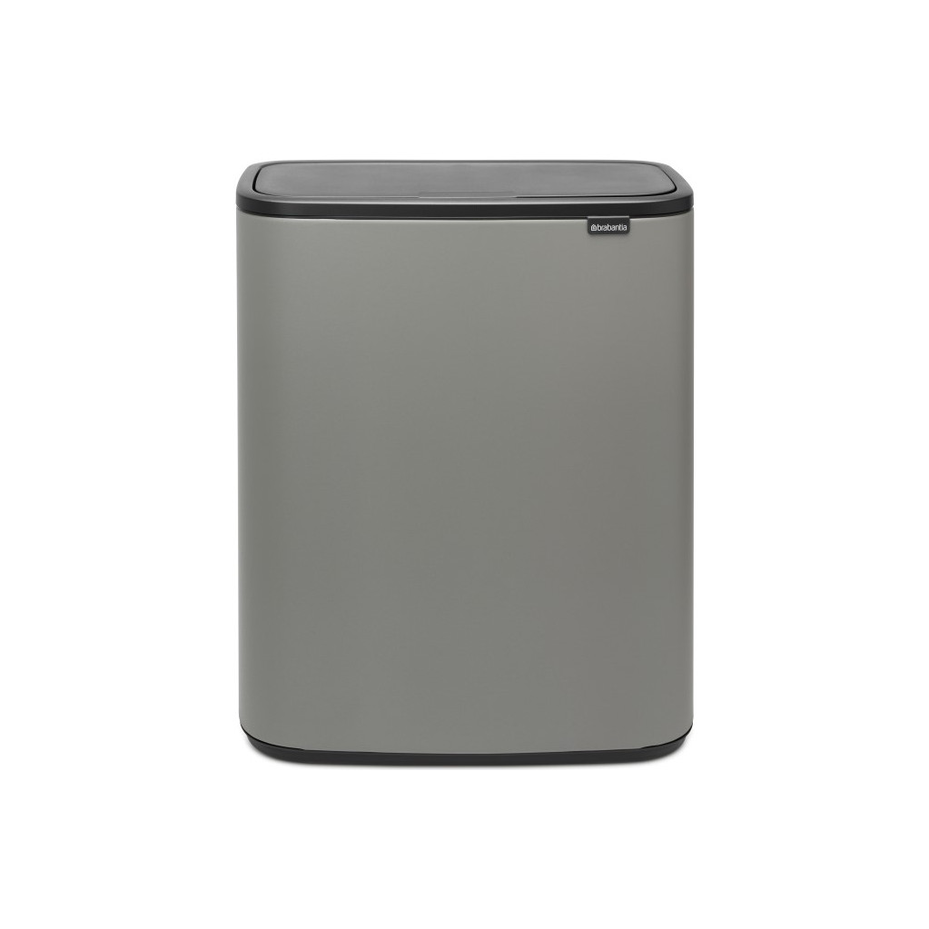 Brabantia Bo Touch Bin 60 Liter Grijs