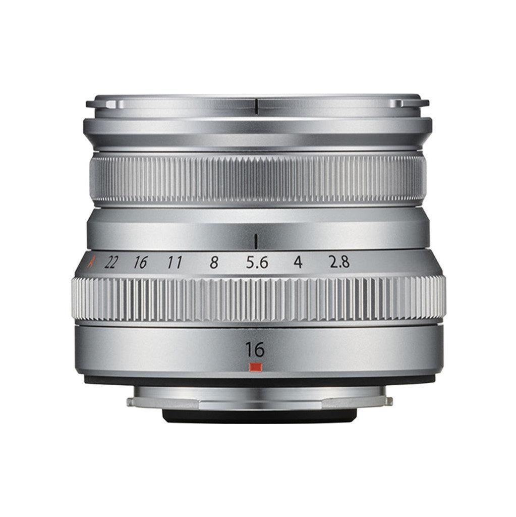 Fujifilm XF16mm f/2.8 R WR Zilver
