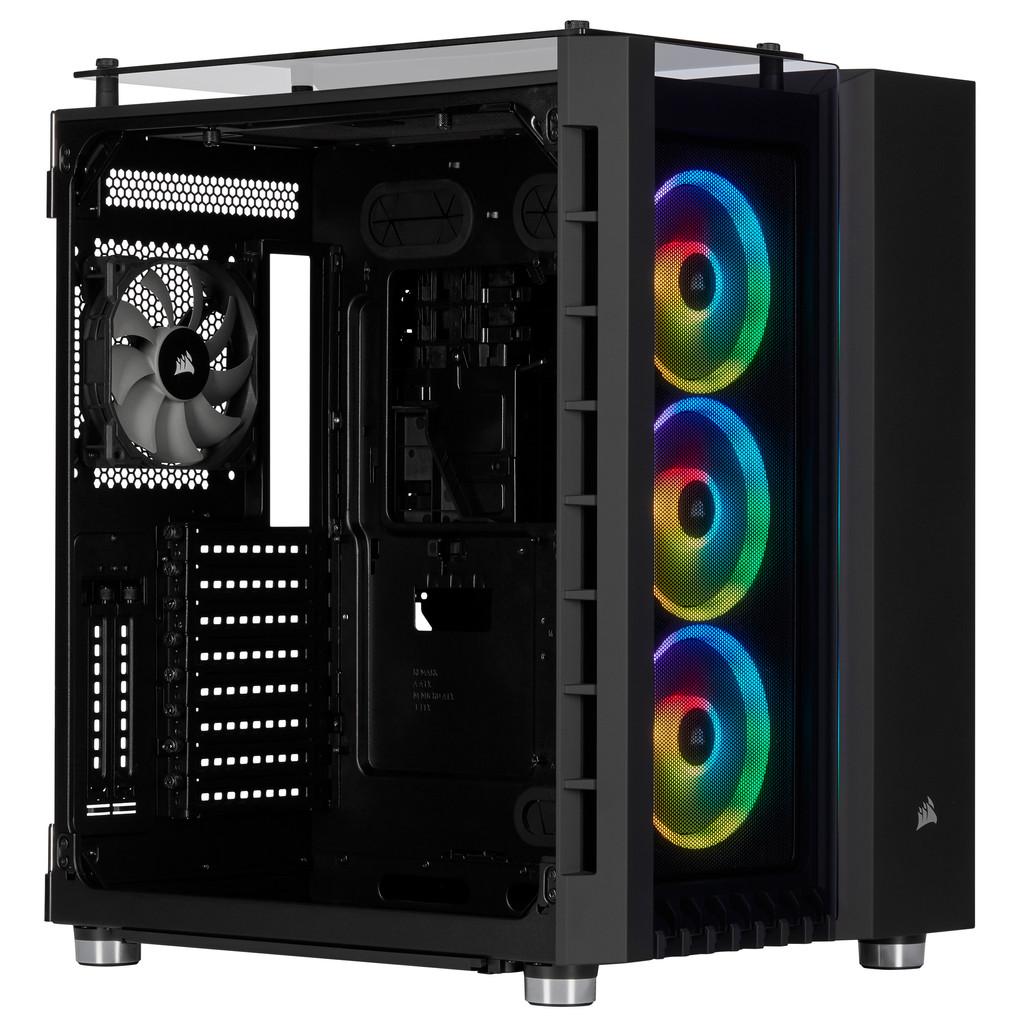 Afbeelding van Corsair Crystal Series 680X RGB Case computerbehuizing