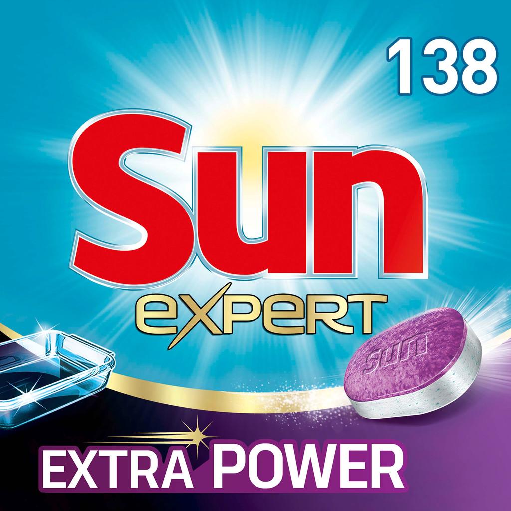 Sun Vaatwastabletten All-in-1 Extra Power - 138 stuks vaatwastabletten