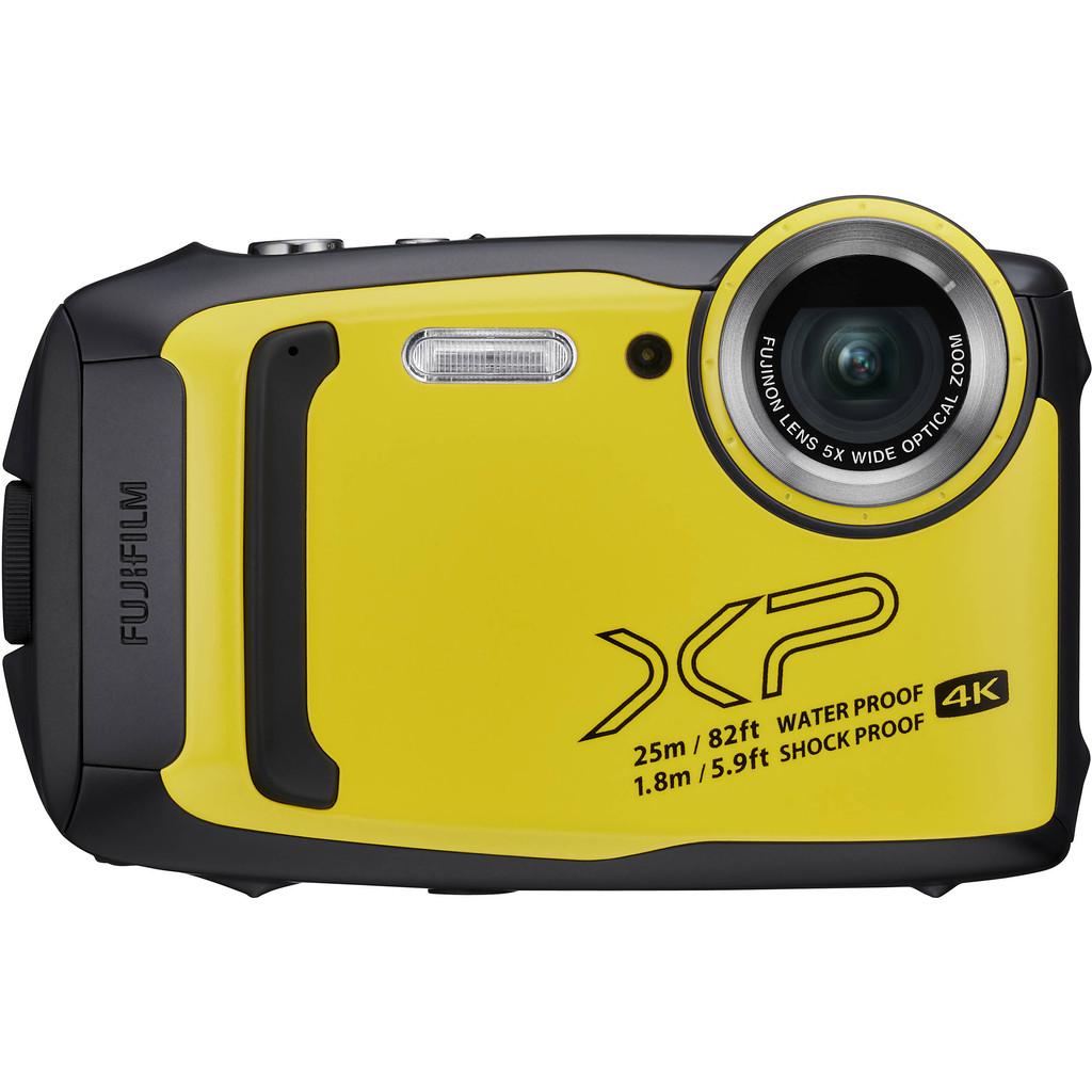 Fujifilm Finepix XP140 compact camera Geel