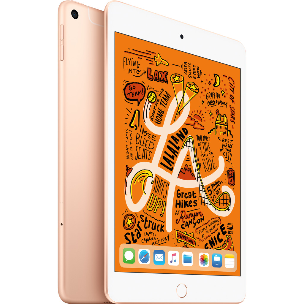 Apple iPad Mini 5 Wifi + 4G 256GB Goud
