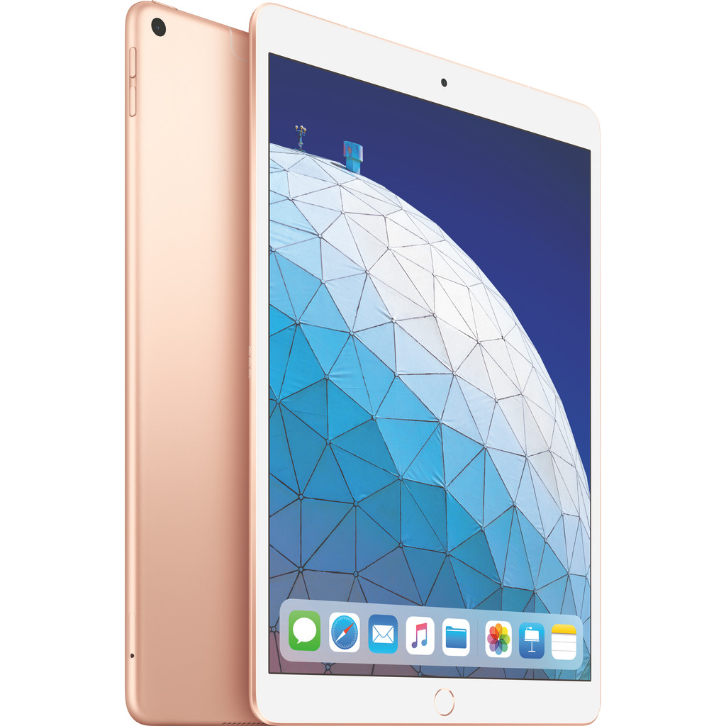 Apple iPad Air (2019) 10,5 inch Goud 256GB Wifi + 4G