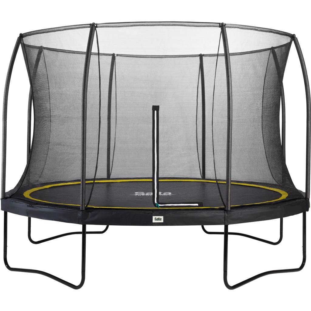 Salta Comfort trampoline met rand rond 366 cm zwart