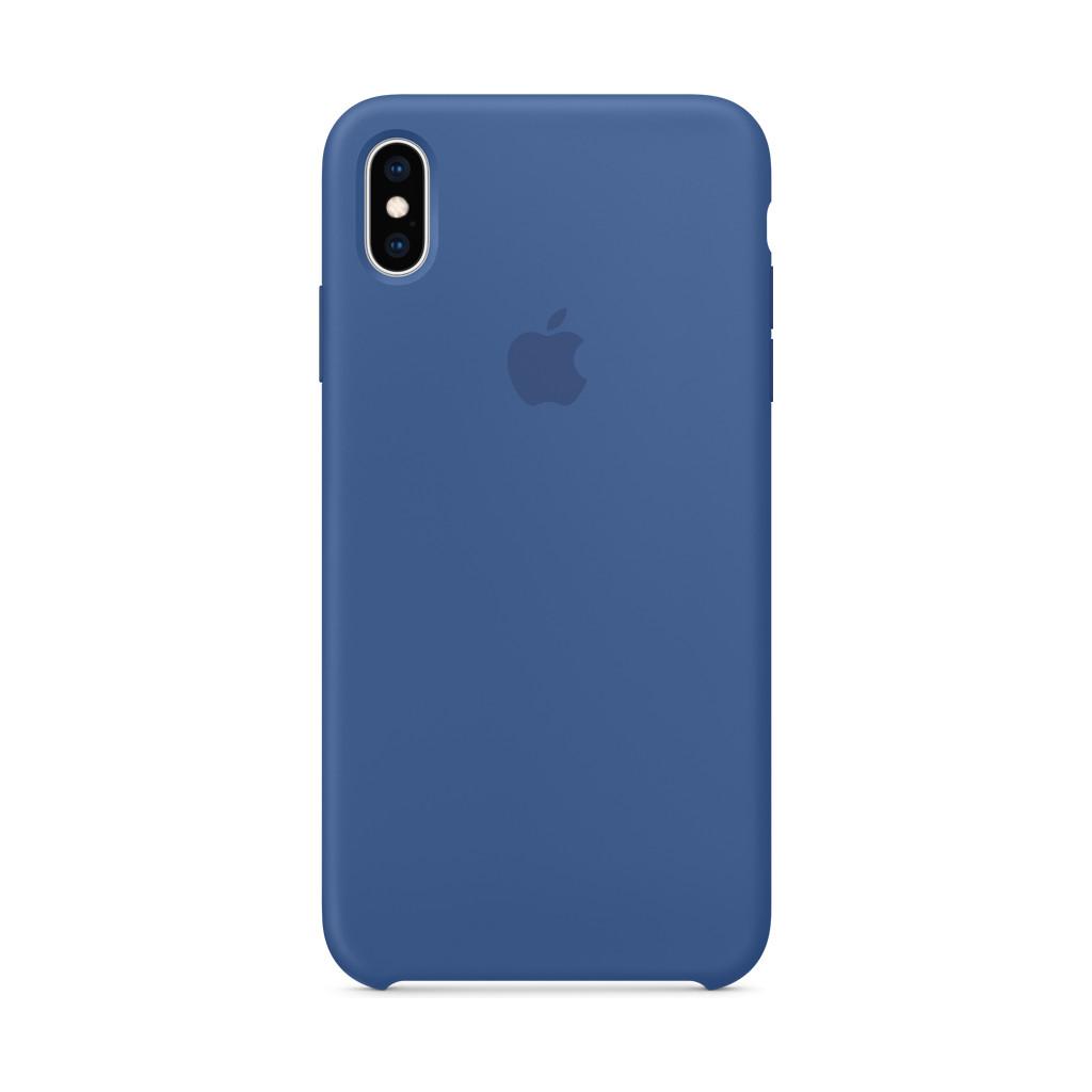 Apple iPhone XS Max siliconen case Delft Blue