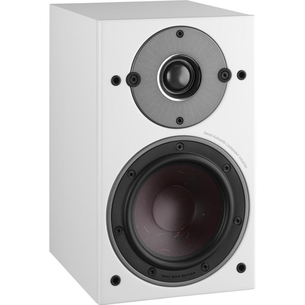 Afbeelding van Dali OBERON 1 Wit (per paar) hifi speaker