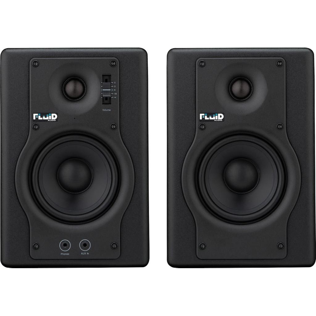 Fluid Audio F4 Zwart (per paar) kopen