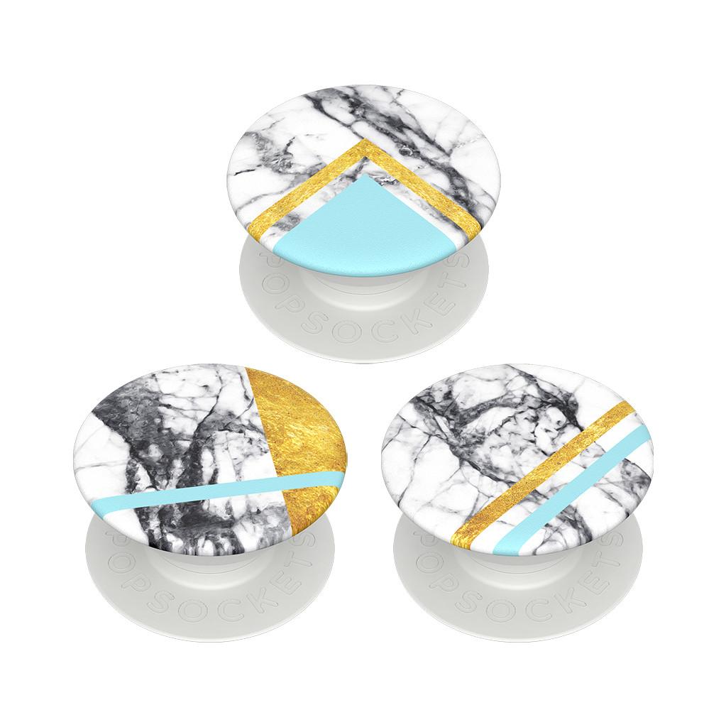 PopSockets Minis White Marble Glam kopen