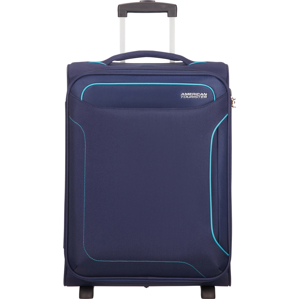 American Tourister Holiday Heat Upright 55 navy Zachte koffer