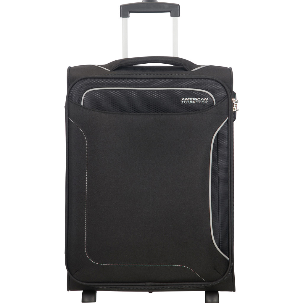 American Tourister Holiday Heat Upright 55 black Zachte koffer
