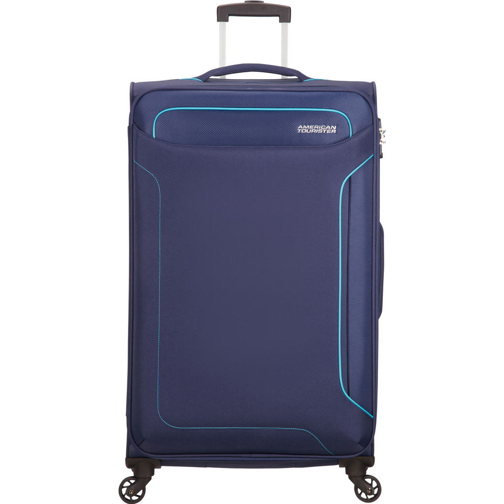 American Tourister Holiday Heat Spinner 79 navy Zachte koffer