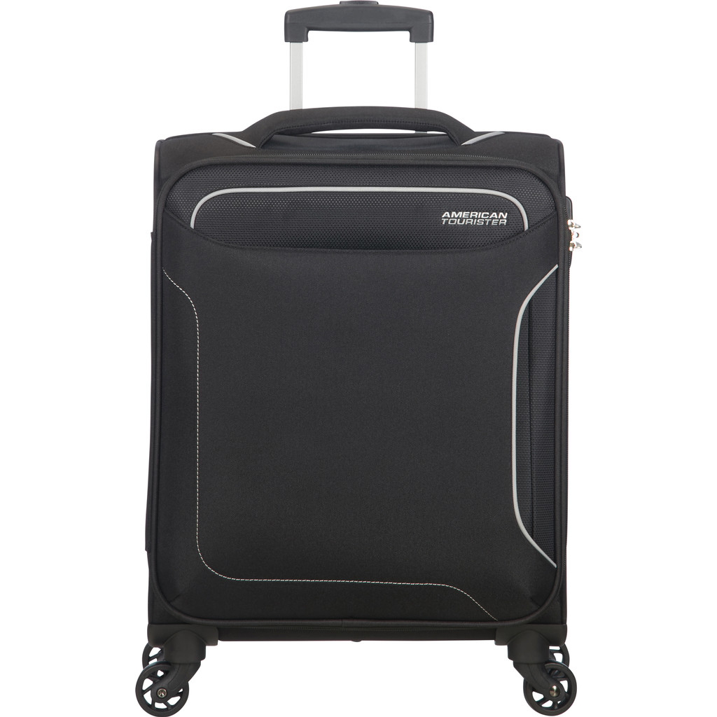American Tourister Holiday Heat Spinner 55 black Zachte koffer