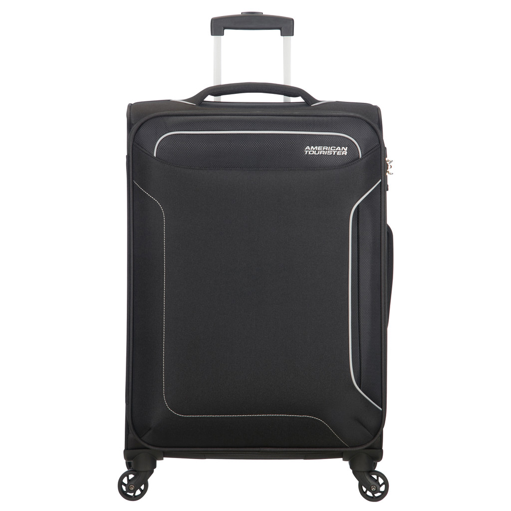 American Tourister Holiday Heat Spinner 67 black Zachte koffer