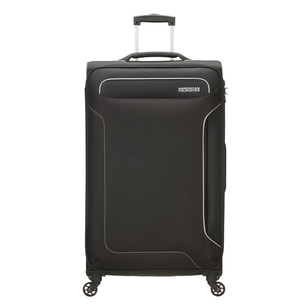 American Tourister Holiday Heat Spinner 79 black Zachte koffer