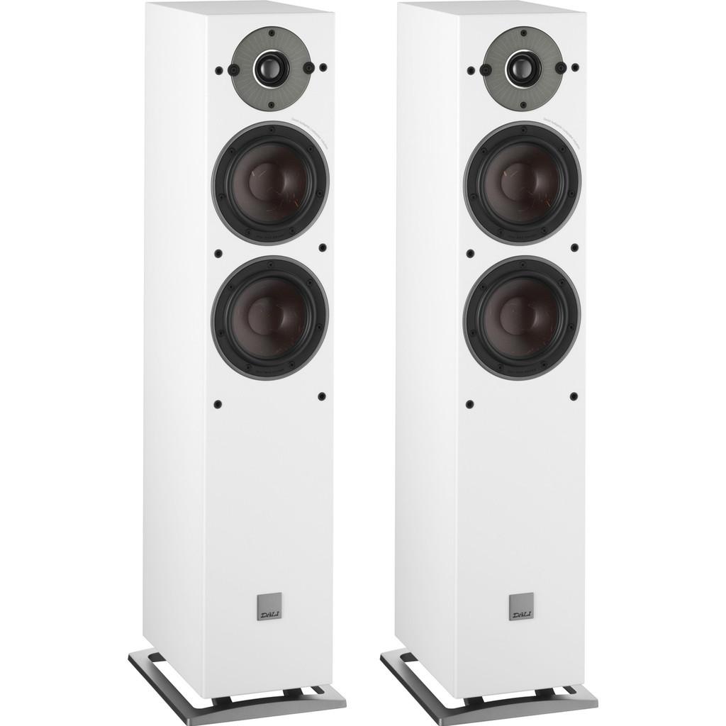 Afbeelding van Dali OBERON 5 Wit (per paar) hifi speaker