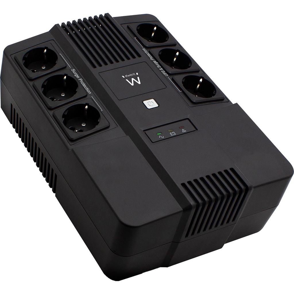 Ewent Line Interactieve UPS 600 VA Met 6 Stopcontacten kopen