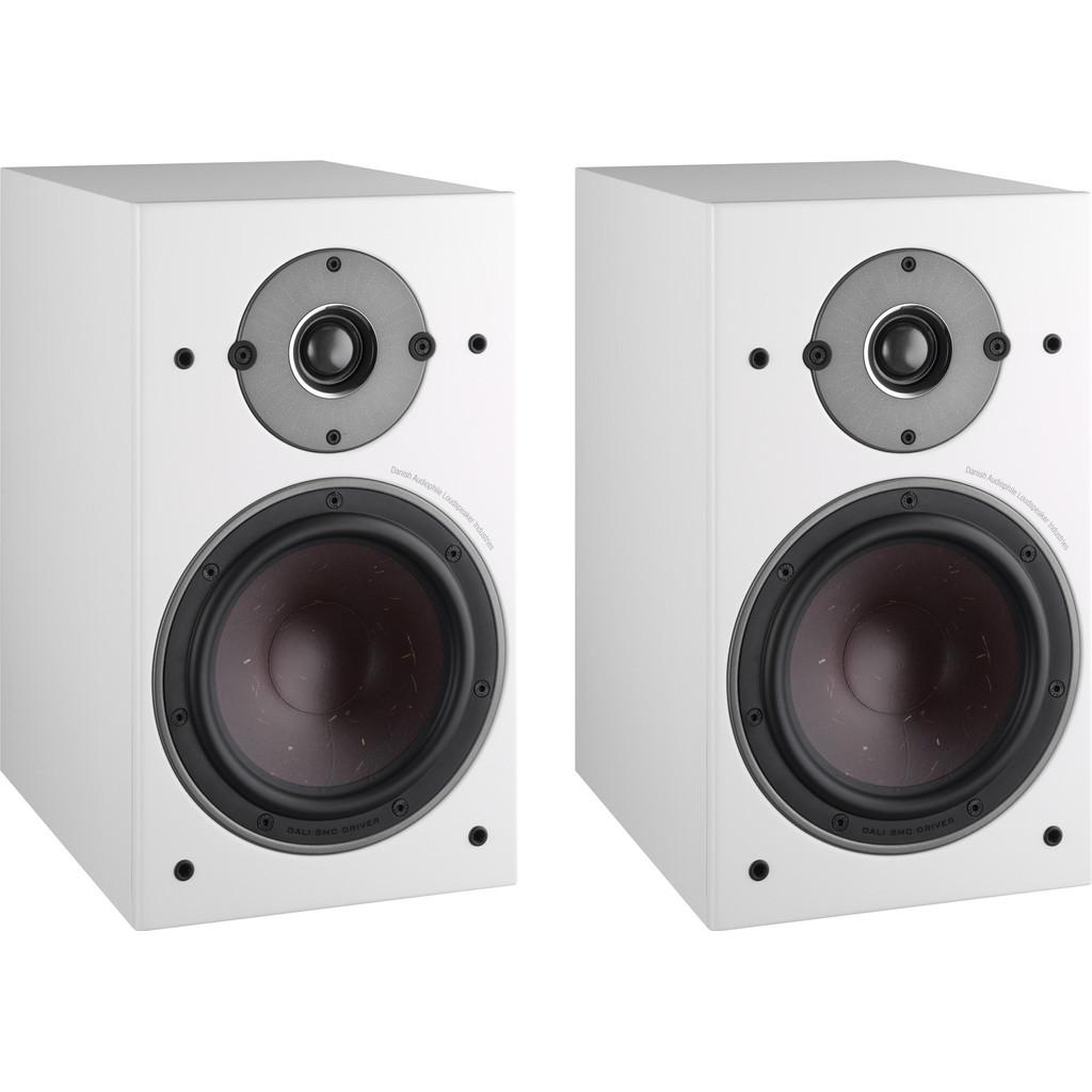 Afbeelding van Dali OBERON 3 Wit (per paar) hifi speaker