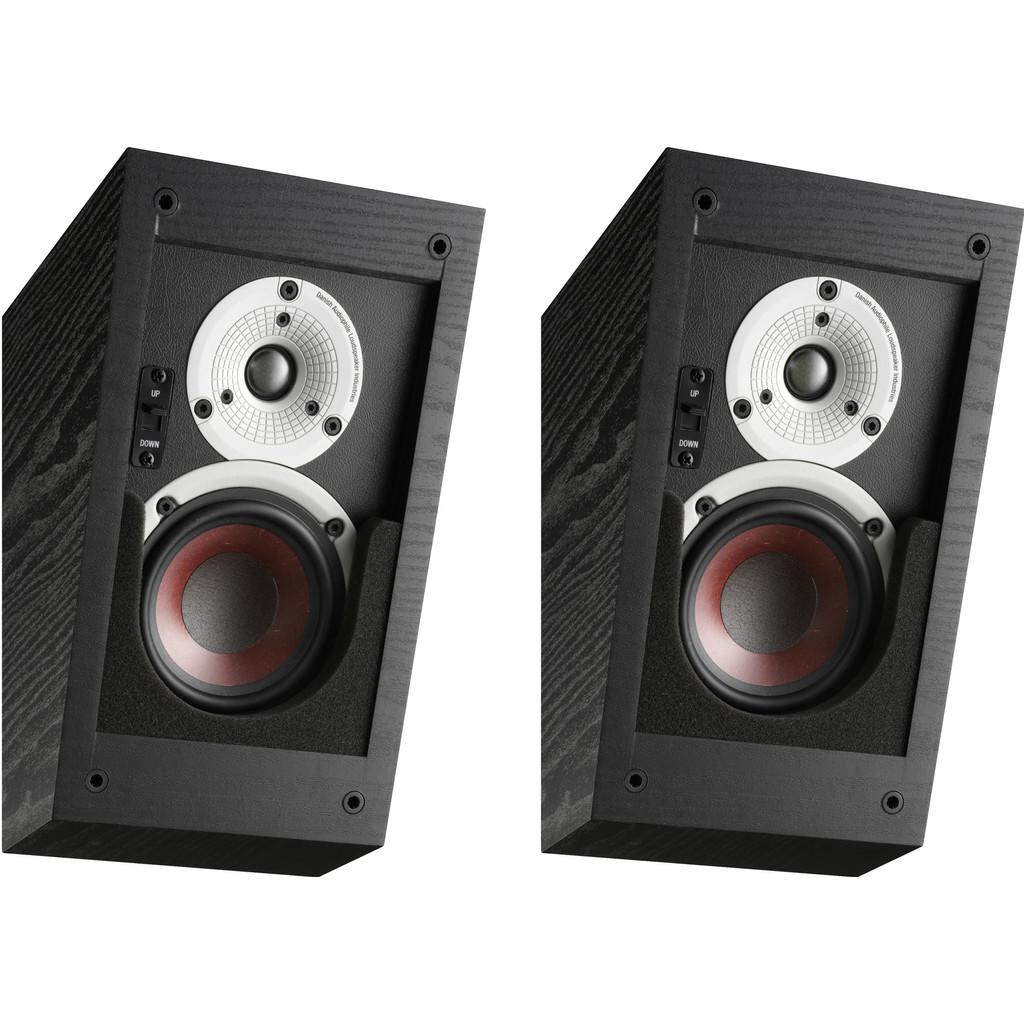 Afbeelding van Dali Alteco C 1 Zwart (per paar) hifi speaker