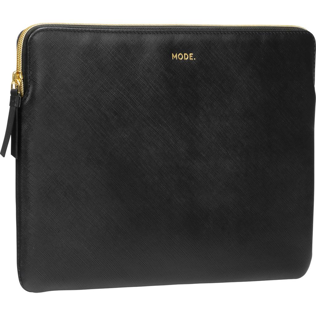 dbramante1928 Paris 13 inch MacBook Sleeve Leer Zwart / Breedte laptop 29 cm - 30,5 cm kopen