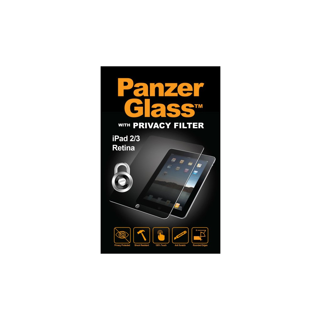 PanzerGlass Privacy Apple iPad 2/3/4 Screenprotector Glas kopen