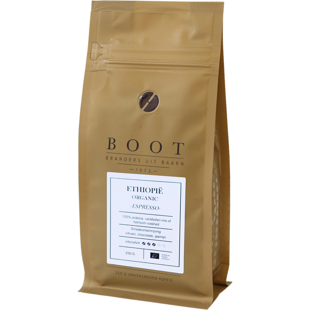 BOOT Ethiopië koffiebonen 250 gram