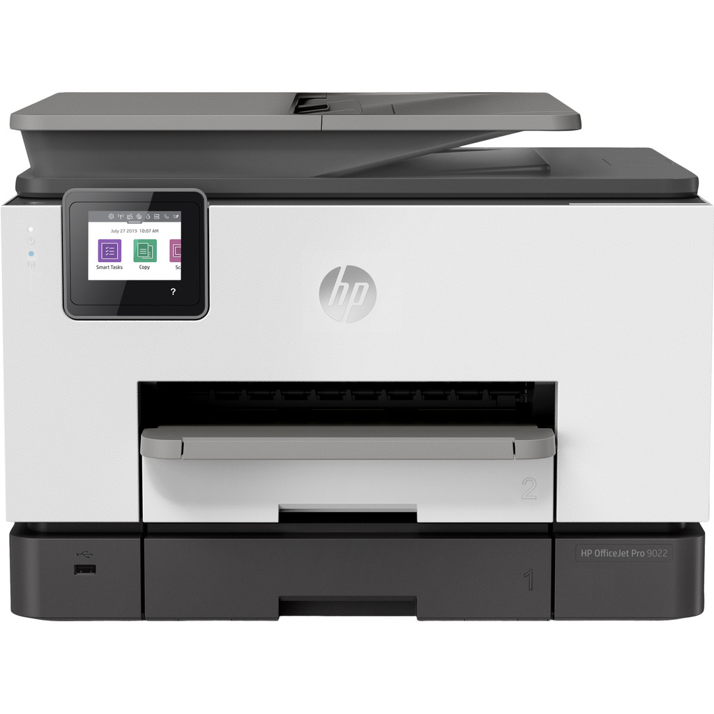HP Officejet Pro 9022 All-in-One Basalt Multifunctionele inkjetprinter Printen, Scannen, Kopiëren,