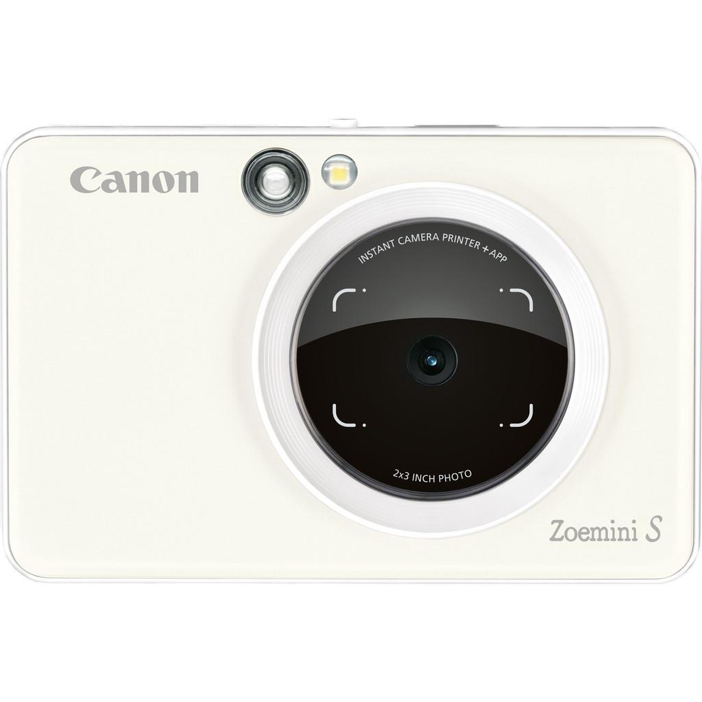 Canon Zoemini S instant camera Pearl White