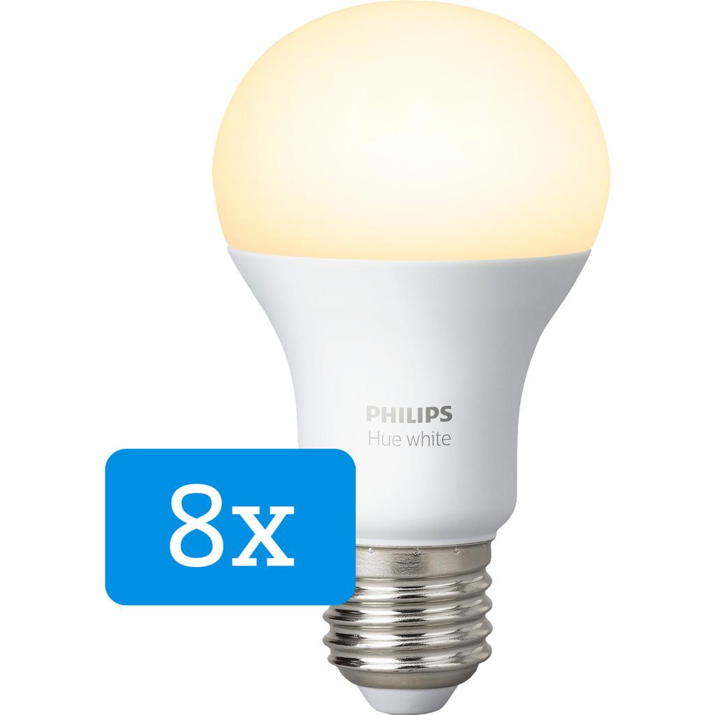 Philips Hue White E27 8 pack