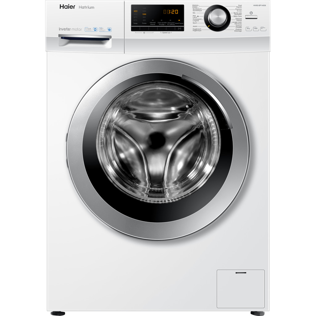 Haier HW80-BP14636 Wasmachines