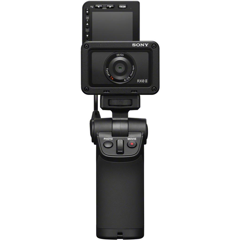 Sony CyberShot DSC-RX0 II-4K met 30 frames per seconde  15,3 megapixel foto's  Waterdicht tot 10 meter  Beeldstabilisatie